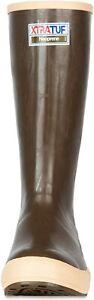 """XTRATUF Legacy Series 15"""" Neoprene Men's Boots, Copper & Tan-22272G OPEN BOX"""