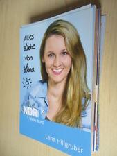 76944 Lena Hillgruber TV Musik Film Kino original signierte Autogrammkarte