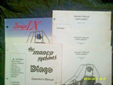 Preowned Manco Dingo Go Kart Operators Manual / 3 Supplements 389-00,388-05,285
