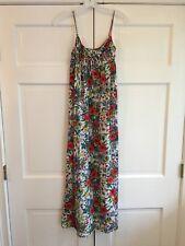 Rare 1960s Vintage Hollywood Vassarette Munsingwear Floral Nightgown Sz Xs Euc