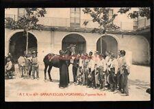 More details for spain granja escuela fortianell boys observe horse postcard 1910 - sp149a