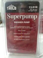 Windshield Washer Pump Rear Trico 11-519