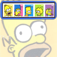 2009  THE SIMPSONS  Homer  STRIP of 5  Attached  MINT Stamps  # 4399-4403 4403a