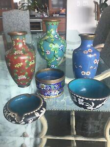 Zahdau Cloisonne Collection -6 Pieces