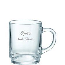 Teeglas, Montana, Cappuccino, mit ihrer Wunsch-Lasergravur