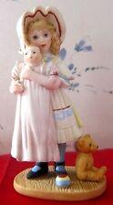 JENNY & HER BYE-LO DOLL Jan Hagara Figurine Royal Orleans 1983-84 #8306 Signed
