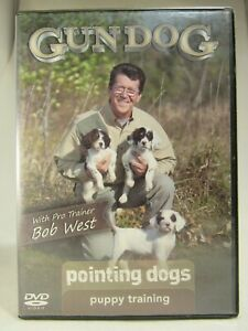 GUN DOG Pointing Dogs Puppy Training on DVD Pro Trainer Bob West Hunting