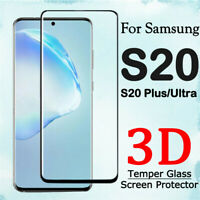For Samsung Galaxy S20 S20+ Ultra Curved Tempered Glass Screen Protector Film