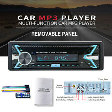 FM Car Stereo Radio Bluetooth 1 DIN In Dash SD/USB AUX Head Unit 7 color light