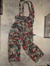 Pantalon Armée Suisse camouflage Alpenflage t.42 treillis Swiss Army trousers