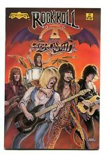 Rock n Roll Comics 11 NM 9.4 Aerosmith 1990 Revolutionary Uncertified