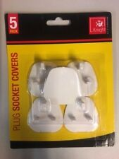 5 x Plug Socket Covers Children's Safety Protector