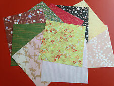 20 Sheets in 10 Designs Yuzen Japanese Origami Chiyogami Paper Size 145mm X145mm