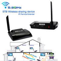 5.8GHz Wireless 300M HDMI 1080P in AV Sender TV Transmitter Receiver Audio UK