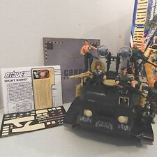 GI JOE~ NIGHT RHINO & FORCE ~ Action Man, Beachhead, Short fuze, Tunnel Rat ect