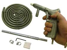 Aire Sandblaster Pistola Kit De Jet Set Grit Shot Blaster Pistola Manguera pintura removedor de óxido Reino Unido