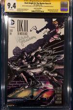 FRANK MILLER 4 SIGNED DK III The Master Race CGC 9.4 Andy Kubert Brian Azzarello Comic Art