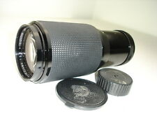 FORMULA 5 75-205mm F 3.5 lens for NIKON mount  ( non AI )  AS IS   SN761427