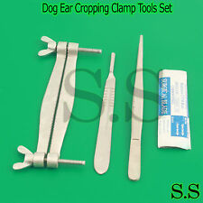 Pinscher Dog Ear Cropping Clamp Guide Tools Kit, Veterinary Instruments VT-101