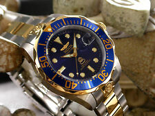 Invicta 3049 Grand Pro Diver 18K Gold Plated Stainless Steel Men's 300M Watch