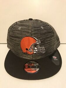 Cleveland Browns Blurred Trick Snapback Hat. Brand New. One Size Fits All