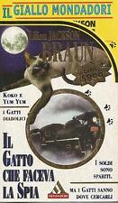 (Lilian Jackson Braun) Il gatto che faceva la spia 1996 il giallo n.3