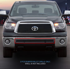 2010-2013 Toyota Tundra Black Billet Grille Grill Bumper 3 Pcs Fedar