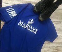 Marine Corps The few the Proud T-Shirt Military USMC