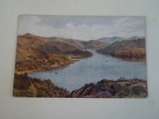 A R QUINTON Postcard 2234 Panorama Walk, Barmouth Franked+Stamped 1923  §A2427