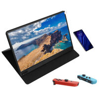 """LCD 1080P Ultra Slim IPS HDMI Type-C Portable Monitor For Office / Gaming 15.6"""""""