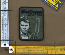 """Ricamata / Embroidered Patch """"MacGyver"""" OD with VELCRO® brand hook"""
