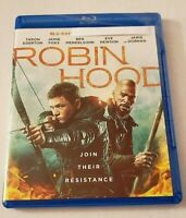 Robin Hood NEW Bluray disc/case/cover only-no digital 2019 Egerton Foxx Dicaprio