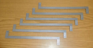 LIONEL LARGE G SCALE TRAIN PARTS: BOXCAR REEFER CATWALKS GRAY PLASTIC LOT OF 6