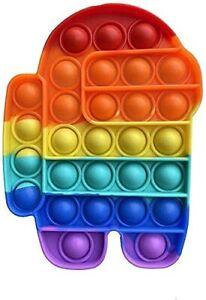 ❤️ Popit Fidget Toy Push Bubble Sensory Stress Relief Kids Family Games Robot ❤️