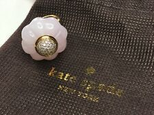 New kate spade Rose Quartz Confection Pave Cake Ring Size 6 RRP £75