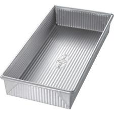 New ListingUsa Pan Bakeware Aluminized Steel Biscotti Pan