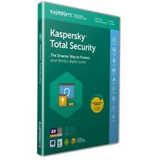 Kaspersky Total Security 2019 3 Devices/User 1 Year PC/Mac/Android Internet NEW