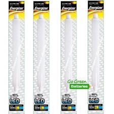 4x Energizer 284mm S15 5.5 Watt LED Strip Light Tube 550 Lumens, Equivalent- 50W