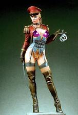 Natasha Fantasy Art Sexy Military Girl Unpainted Statue Figure Model Resin Kit