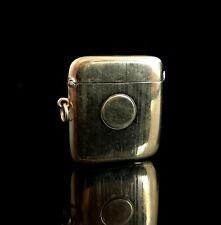 More details for antique 9ct gold vesta case, edwardian era