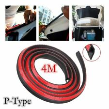 4M Universal Auto CAR P Type Rubber EDGE DOOR SEAL Weather strips SUV TRIM