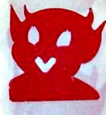 DEVIL TANNING STICKER  Scrapbooking Craft 50 CT