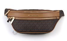 Michael Kors Kenly Brown/acorn MD Waist Pack Bag 35t9gy9n8b