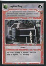 Star Wars CCG A New Hope Limited BB Logistical Delay