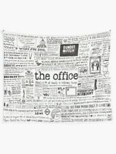 A Visual Representation of the Office Wall Tapestry, Office TV Movie Tapestry