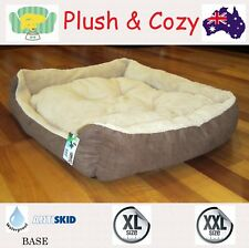 Comfy Large 100- 120cm XXL Dog Bed Cat Pet Mat Mattress Pad Cushion Kennel House