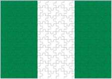 Nigeria Flag A4 JIGSAW Puzzle Birthday Christmas Gift (Can Be Personalised)