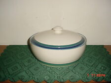 PFALTZGRAFF  OCEAN BREEZE  9 3/8  ROUND CASSEROLE DISH WITH LID/ & Ocean Breeze White Pfaltzgraff China u0026 Dinnerware | eBay