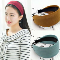 Women's Wide Headband Hairband Boutique Wide Alice Hair Band Hoop Accessories