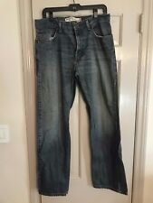 Pre owned Levis 559 Relaxed Fit Straight Leg Mens Blue Jeans Size 33x32 Pants